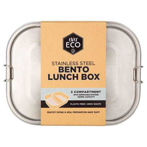 Ever Eco Bento Lunch Box 2 compartments 1400ml