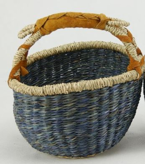 Basket Small Duck Egg Blue 20cm