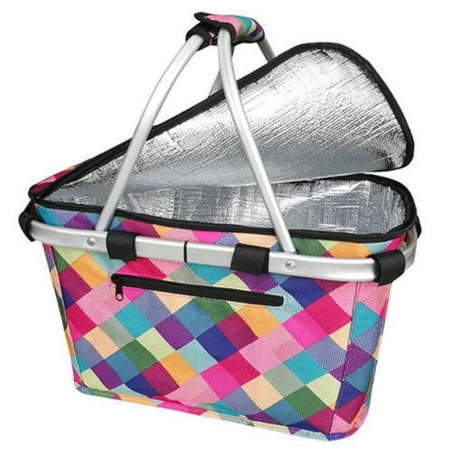 Carry Basket Harlequin insulated