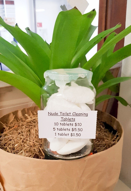 Nude Toilet Cleaning Tablets
