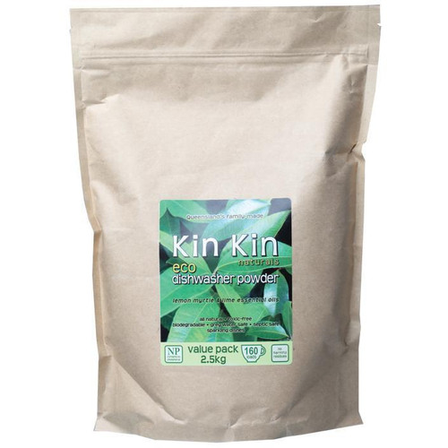 Dishwasher Powder 2.5kg Lemon Myrtle & Lime Kin Kin