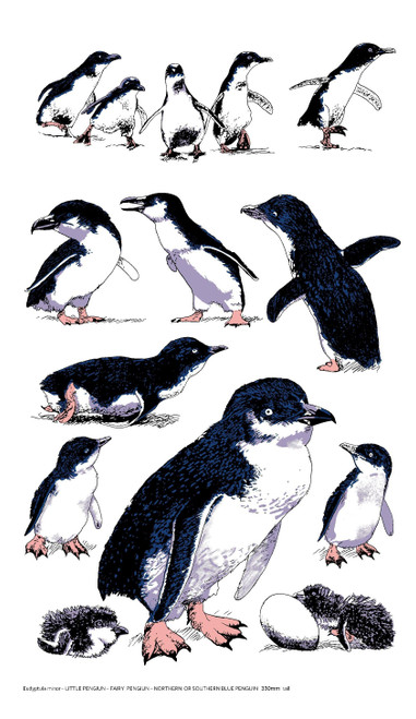 Tea Towel LR Penguin