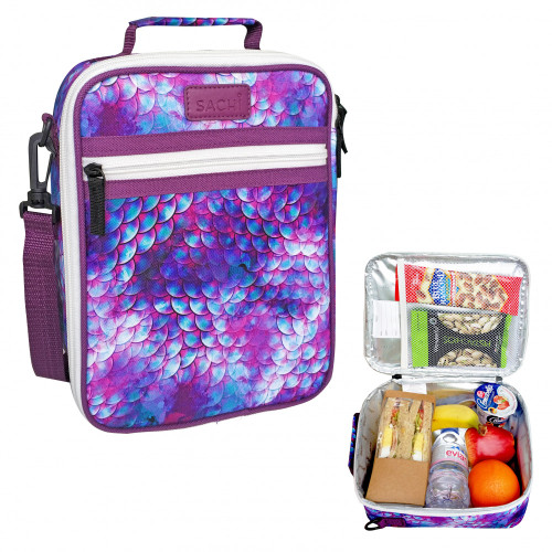 Lunch Tote Dragon Scales insulated Sachi