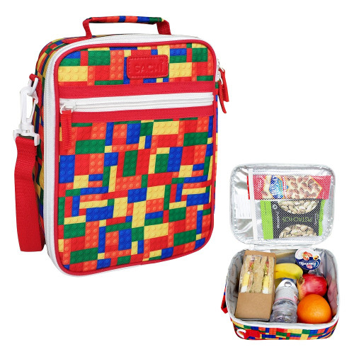 Lunch Tote Bricks insulated Sachi