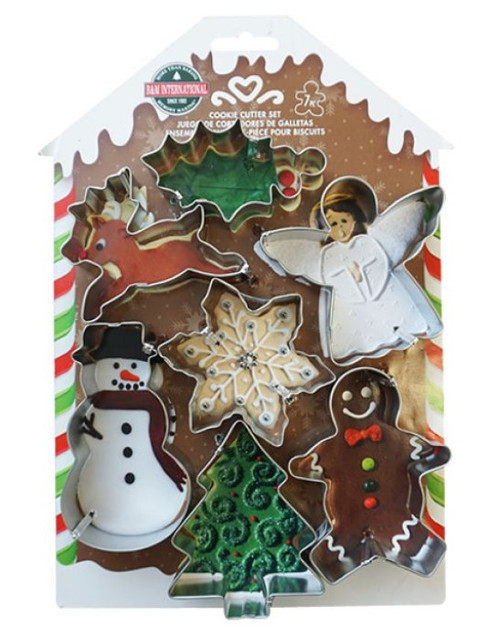 Xmas Cookie Cutters set 7