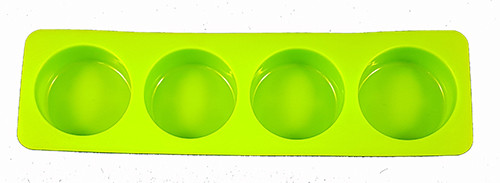 Soap Mould - Round (4 cavity)