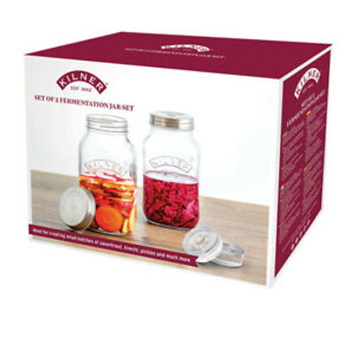 Fermentation Jars Set of 2 1Litre