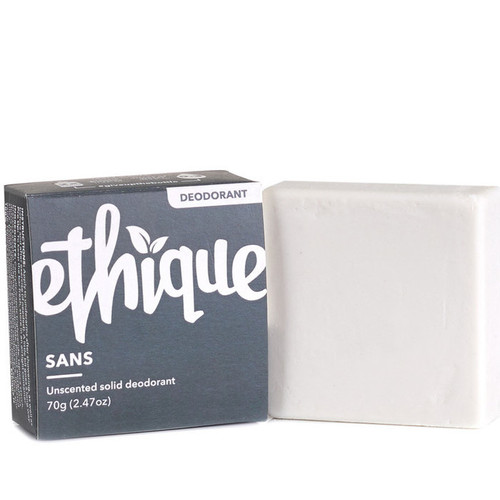 Solid Deodorant Bar Unscented Ethique