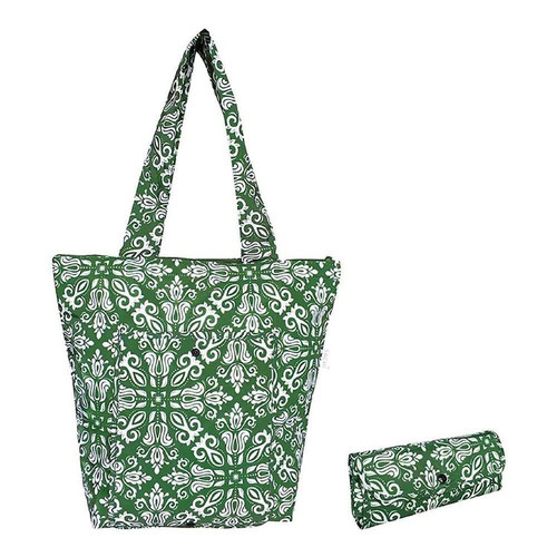 Market Tote Bohemian Green Insulated