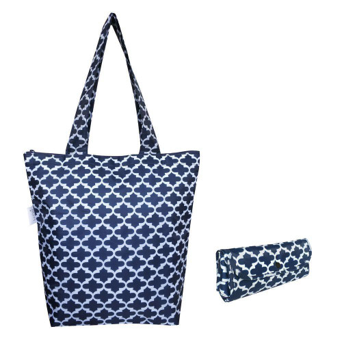 Market Tote Moroccan Navy Insulated