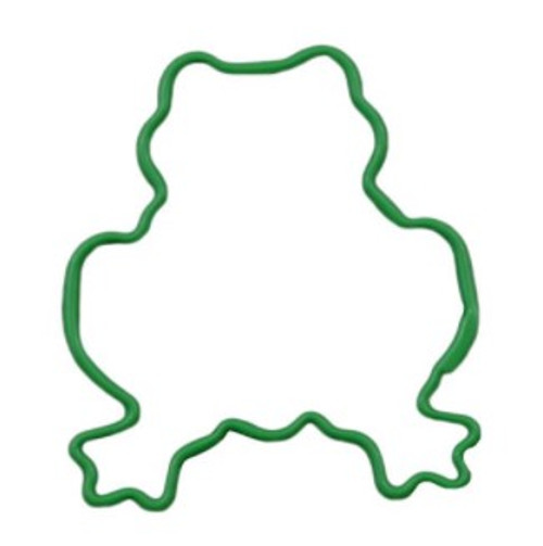 Cookie Cutter Frog green 7.6cm