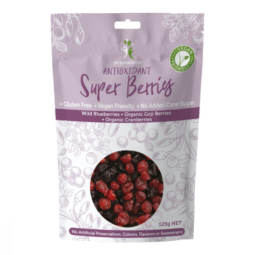 Dr Superfoods Dried Antioxidant Super Berries 125gm
