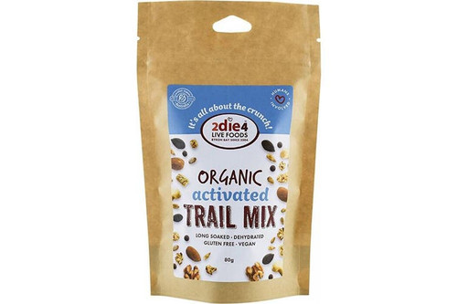 Trail Mix Organic Activated 2Die4 Live Foods 80gm