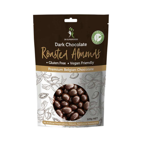 Dr Superfoods Roasted Almonds Dark Chocolate