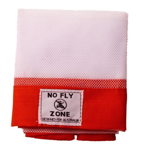 Food Cover No Fly Zone Red