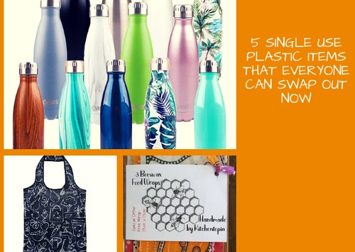 e booklet 5 single use plastic swaps you can