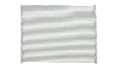 Abby Stripe Powder Blue Placemat set of 4