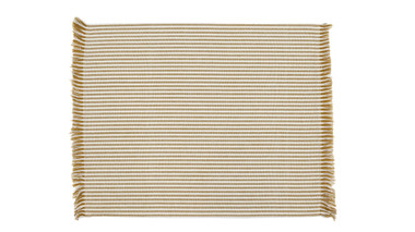 Abby Stripe Mustard Placemat set of 4