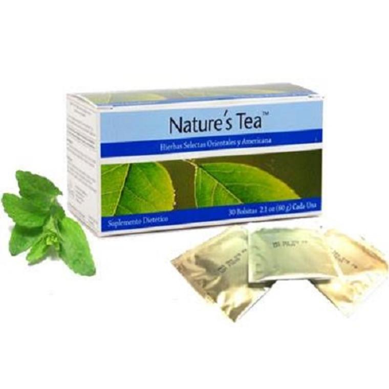 Nature's Tea Mylar Bags 30 Bags  24621