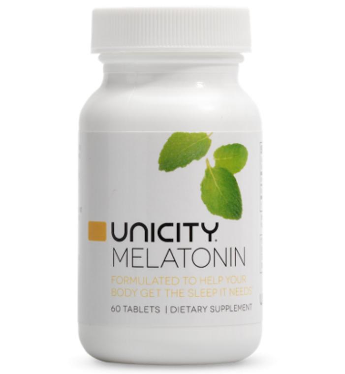 Unicity Melatonin 60 Tablets