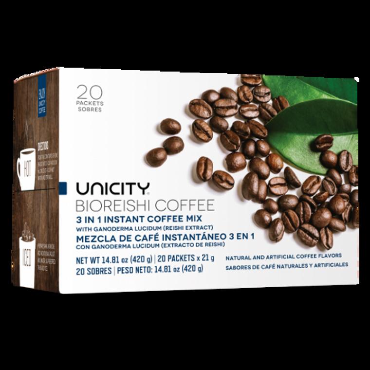 Unicity Core Bio Reishi Coffee 20 Packets