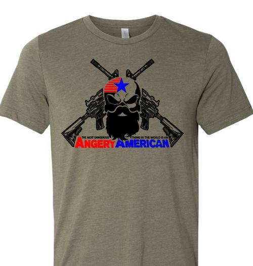 Angery American rifle tee