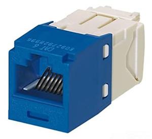 Panduit CJ688TGBU - Mini-Com Cat6 UTP Module