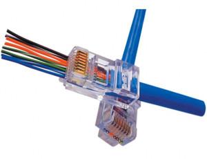 Platinum Tools 100010B EZ-RJ45 Cat6 Connectors (100pc)