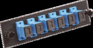 Multilink 10-4810 - 6 Fiber SC/UPC Simplex SM Fiber Panel
