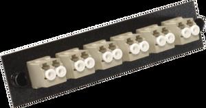 Multilink 10-3626 - 12 Fiber LC/UPC Duplex MM Fiber Panel