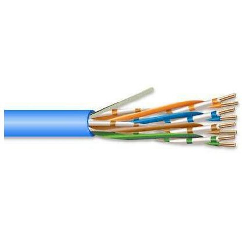 Commodity Cables 6CMR234BO Category 6 23AWG 4Pair CMR 600MHz U/UTP 1000FT Blue