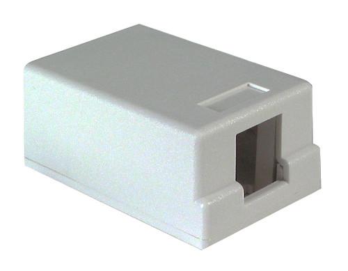 Dynacom 10600-SB1-WH 1 Port Surface Mount Box