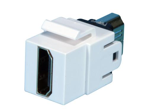 Dynacom HDMI Coupler Insert (White)
