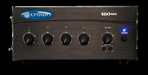 Crown Audio 160MA - Four Input 60W Mixer-Amplifier