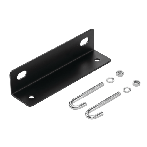 Hoffman - LWASK12BLK - Wall Angle Support - Black, Steel