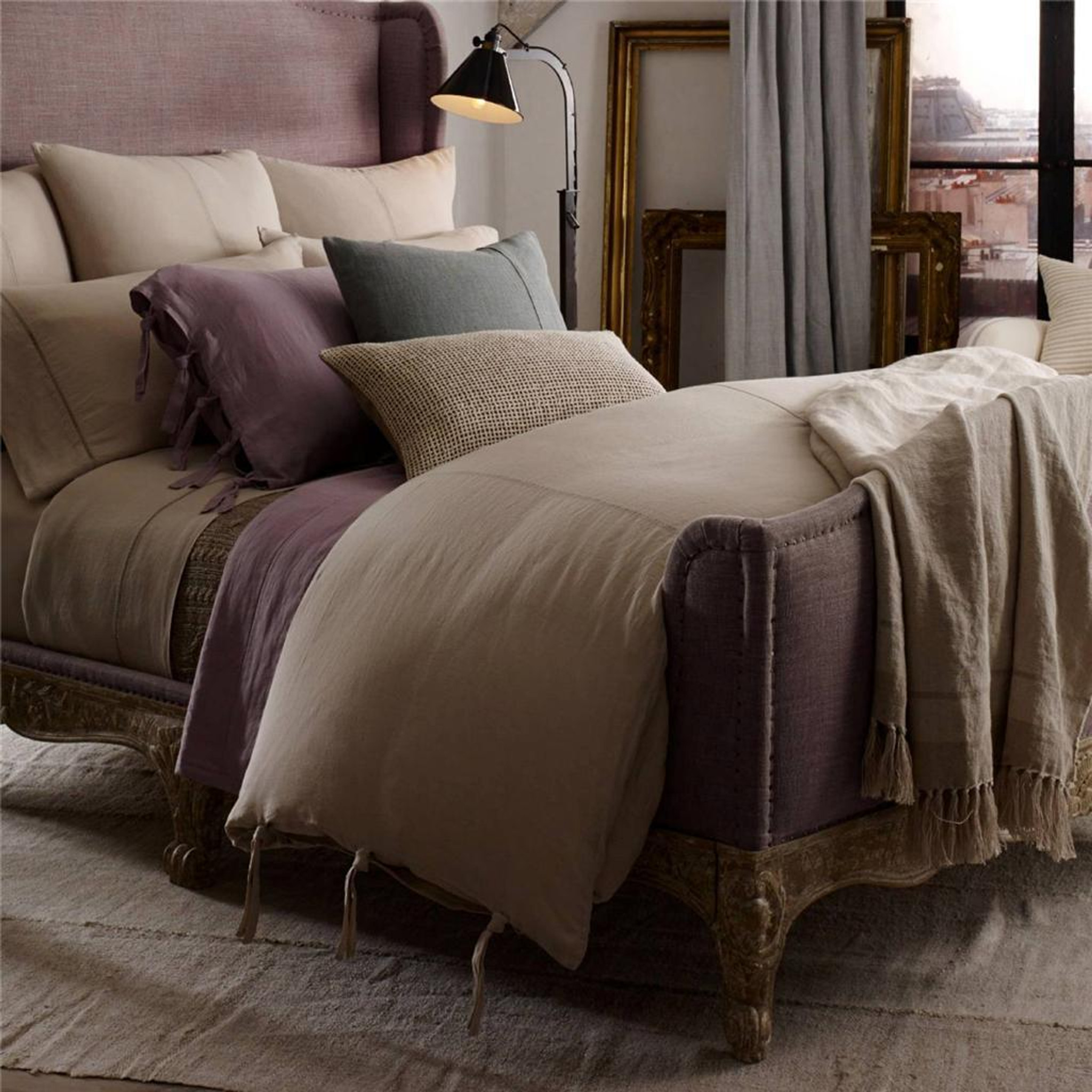 Ralph Lauren Bohemian Ile Saint Louis King Duvet Cover Set New