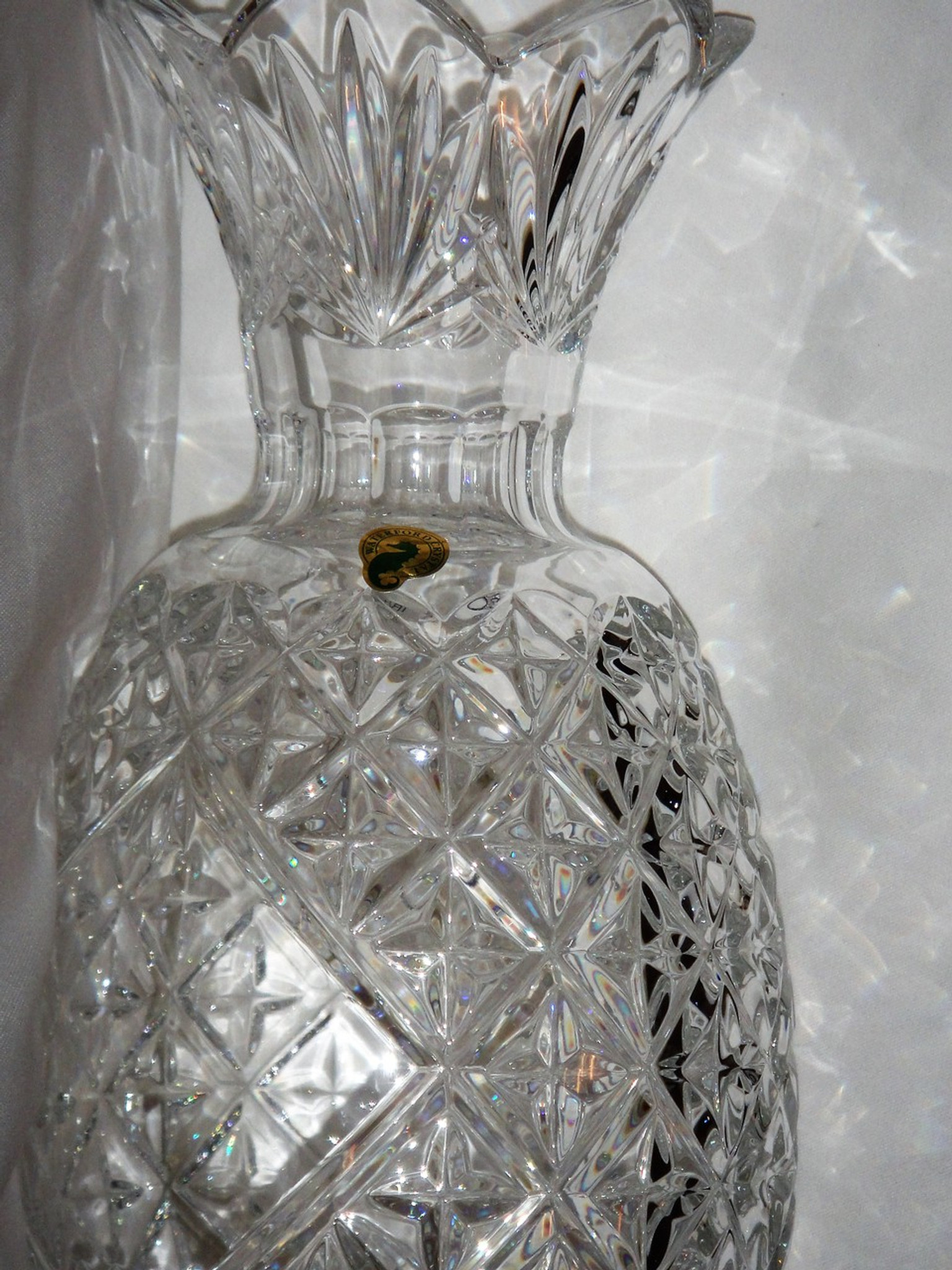 Waterford Crystal Hospitality Pineapple Vase 12 Tall
