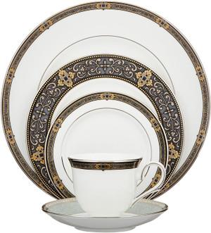 Lenox Vintage Jewel 60PC Dinnerware set for 12 New
