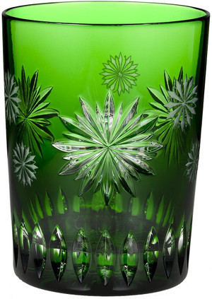 Waterford Snowflake Wishes Courage Prestige Edition DOF Emerald