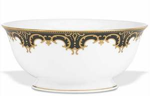 Lenox Marchesa Couture Night Serving Bowl, Baroque