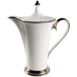 Lenox Solitaire White Coffee Pot