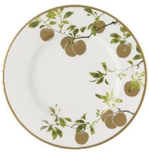 """Waterford Golden Apple 9"""" Accent Plate"""