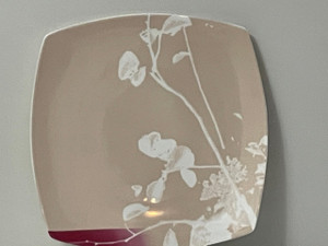 Richard Ginori  Naif In Rose Square Buffet Charger Service Plate