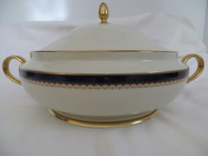 Lenox Jefferson Presidential Gold Covered Vegetable Bowl