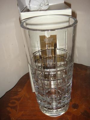 "Ralph lauren Cocktail Party 10"" Crystal Vase"
