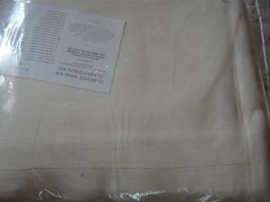 Sferra Classico Linen Oblong Tablecloth Ecru 88 x 106