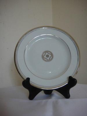Menard de Noblat Charleston Platine Platinum Butter Plate