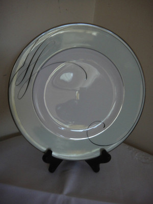 Waterford Ballet Ribbon Mint Accent Plate