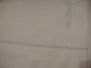 Pratesi Italy Hand Made King Sheet Set Light Blue