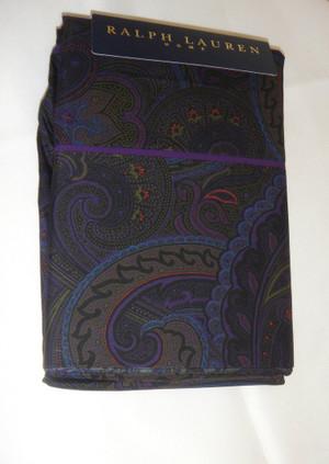 Sferra for Ralph Lauren Alcott Paisley King Pillowcases Olive